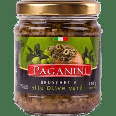 Antepasto-Italiano-Bruschetta-Azeitona-Verde-Paganini-170g